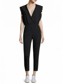 IRO - Ioco Scallop Trim Jumpsuit at Saks Fifth Avenue