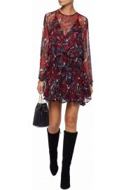 IRO Printed Dress at The Outnet