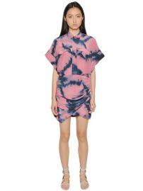IRO Printed Silk Dress at Luisaviaroma