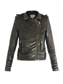 IRO Sequin Biker Jacket at Matches