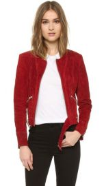 IRO Tatiana Leather Jacket at Shopbop