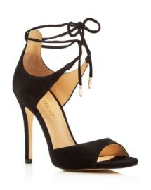 IVANKA TRUMP Holidae Lace Up High Heel Sandals at Bloomingdales
