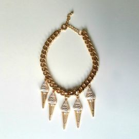 Ice Cream Cone Necklace at H&M