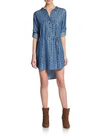 Ikat print shirtdress at Saks Off 5th