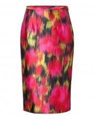 Ikat print skirt by Michael Kors at Stylebop