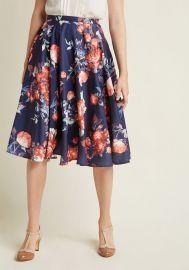 Ikebana Skirt at ModCloth