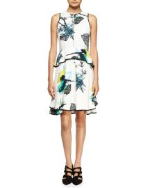 Ikebana dress by Proenza Schouler at Neiman Marcus