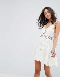 Ilektra Lace Cami Mini Dress by Free People at ASOS