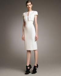 Illusion Bolero Sheath Dress by Alexander McQueen at Neiman Marcus
