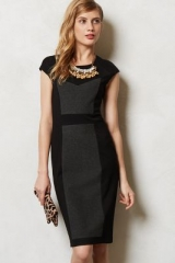 Illusion Pencil Dress at Anthropologie