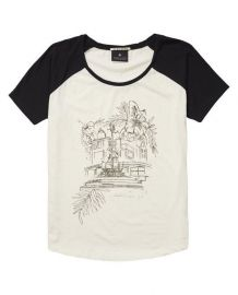 Illustration graphic t-shir at Scotch & Soda