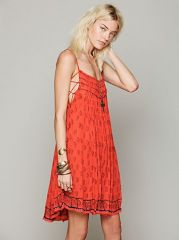Imperial Palm Dress at Free People