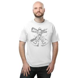 Imperial Snow Angel Tee at Think Geek
