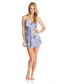 In Bloom by Jonquil Womenand39s Petals and Chiffon Chemise at Amazon