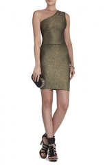 Inari One Shoulder Dress at Bcbgmaxazria