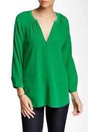 Indarra B Silk Blouse at Nordstrom Rack