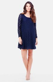 Ingrid and Isabel Dot Lace Maternity Dress at Nordstrom