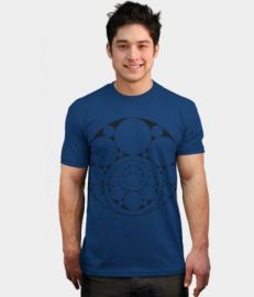 Inner Circle Tee Blue at Design by Humans