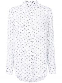 Instrument Print Shirt by Equipment at Farfetch