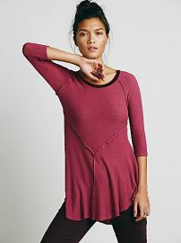 Intimately  Weekends Layering Top in Berry at Free People