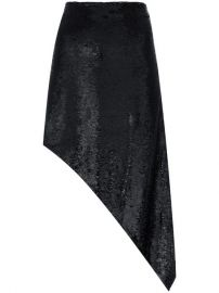 Iro Asymmetric Sequin Skirt - Farfetch at Farfetch