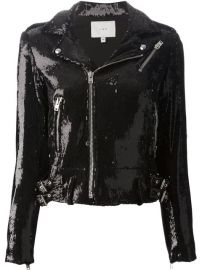 Iro Sequined Biker Jacket - August Pfand252ller at Farfetch