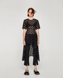 Irregular Polka Dot Top by Zara at Zara