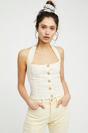Is This Love Halter top at Free People