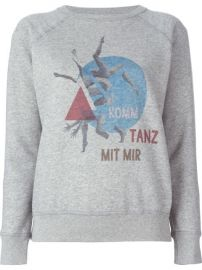 Isabel Marant   201 toile   39 Buster  39  Sweatshirt at Farfetch