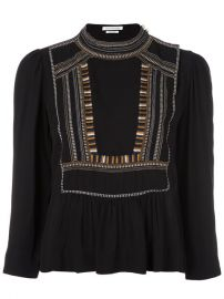 Isabel Marant   201 toile   39 Cerza  39  Blouse at Farfetch