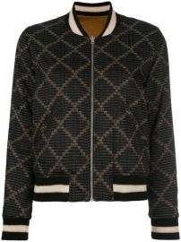 Isabel Marant   201 toile Dabney Bomber Jacket at Farfetch