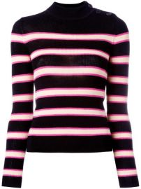 Isabel Marant   201 toile Striped Jumper at Farfetch
