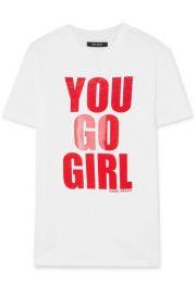 Isabel Marant - International Women s Day printed cotton-jersey T-shirt at Net A Porter