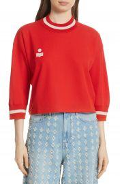 Isabel Marant   toile Dayton Crop Sweatshirt at Nordstrom