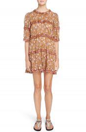 Isabel Marant   toile Maiwenn Floral Print Cotton Dress at Nordstrom
