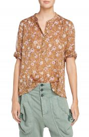Isabel Marant   toile Maria Print Cotton Blouse at Nordstrom