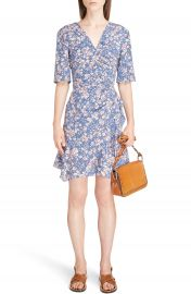 Isabel Marant Brodie Ruched Stretch Silk Dress at Nordstrom