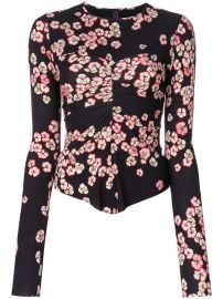 Isabel Marant Domino Floral Print Top at Farfetch