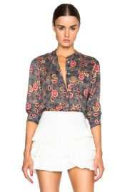 Isabel Marant Silena Flowers Blouse at Forward by Elyse Walker