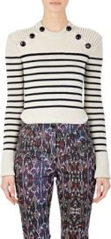 Isabel Marant Striped Hatfield Sweater at Barneys
