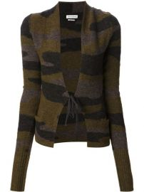 Isabel Marant and201toile Camouflage Tie Cardigan - at Farfetch