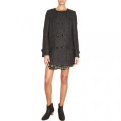 Isabel Marant andEacutetoile Clifford Peacoat at Barneys