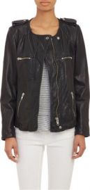 Isabel Marant toile Leather Bacuri Moto Jacket at Barneys