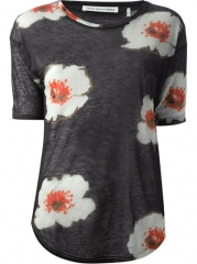 Isabel Marant toile jescat Floral Print T-shirt - Dolci Trame at Farfetch