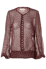 Isabel Marant toile palma Blouse in red at Farfetch