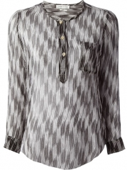 Isabel Marant toile zino Chiffon Top - Divo at Farfetch