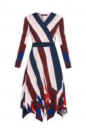 Isabella Asymmetrical Wrap Dress at BCBGMAXAZRIA