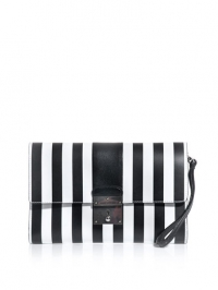 Isobel striped clutch by Marc by Marc Jacbos at Matches