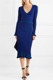 Isolde ribbed-knit midi dress by Altuzarra at Net A Porter