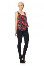 Issy floral tank top at French Connection